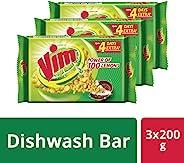 Vim Bar - 200 g Pack of 3 (SW)