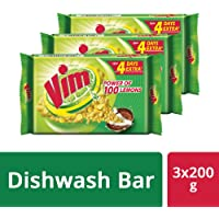 Vim Bar - 200 g Pack of 3 (SW)