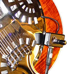 VINTAGE PICKUP REGAL RESONATOR GUITARE avec FLEXIBLE MICRO - GOOSE NECK par Myers Micros ~ voir en action ! Copier et coller : myerspickups.com