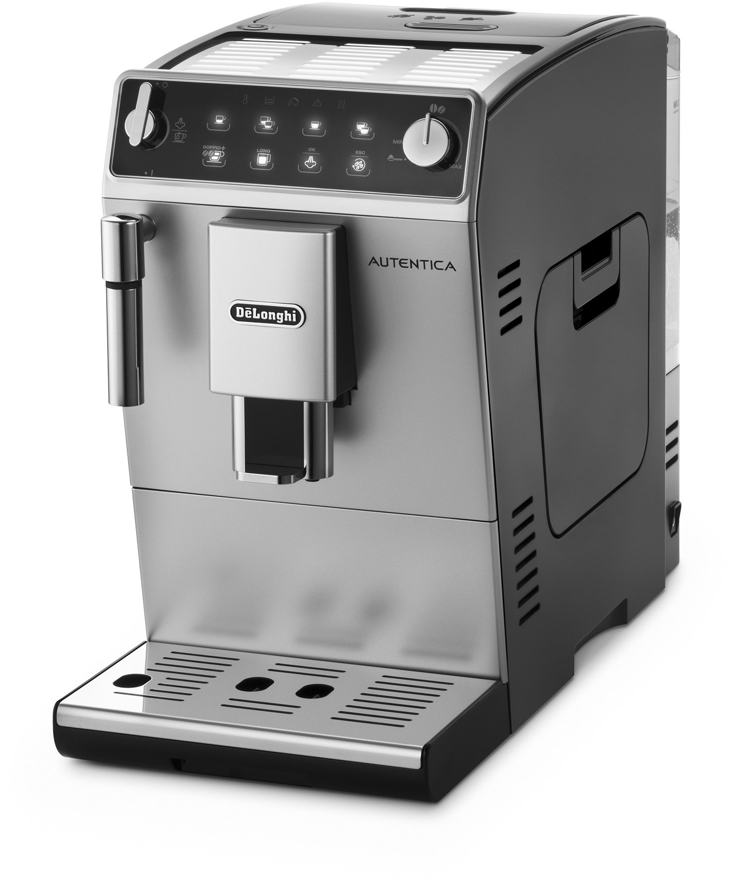 71ECMSm6HEL - De'Longhi Autentica Cappuccino, Fully Automatic Bean to Cup Coffee Machine, Espresso Maker, ETAM29.660.SB, Silver and…