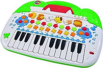 Simba 104018188 - ABC Tier-Keyboard 28 x 39 cm