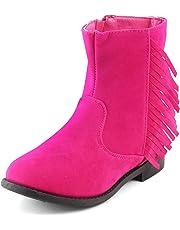 KITTENS Girls' Leather Chealsea Boots
