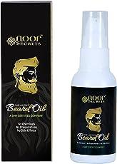 Noor Secrets Natural Beard Growth Oil & Conditioner With Castor - Argan Oil For Men - 50Ml