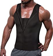 TAILONG Men Compression Shirt for Body Slimming Tank Top Shaper Tight Undershirt Tummy Control Girdle