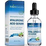 Hyaluronsäure Serum 60ml – Die beste Anti-Aging Feuchtigkeitspflege. Strafft und glättet feine Linien und Fältchen. Enthält Vitamin C, Retinol, Vitamin E. Antioxidative Wirkung.
