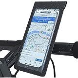 bluenergy Bike Frame Bag,Waterproof Bike & Motorbike Phone Mount, Bike Phone Holder Cycling Handlebar Bag Phone Holder Bag Fo