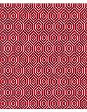 Polsterstoff Möbelstoff Bezugsstoff Meterware für Stühle, Eckbänke, etc. - Breeze Rot Abstrakt Polypropylen - Muster