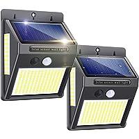 Solarlampen für Außen mit Bewegungsmelder,【Hohe Qualität 216 LED-1000Lumen】Solarleuchte Aussen 2200mAh Solar…