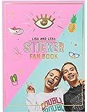 Depesche 10372 - Sticker Fan Book mit vielen Aufklebern, Fan Karten und Autogrammkarte, Lisa und Lena J1MO71