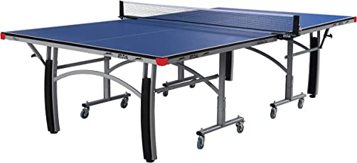Stag Active Table Tennis Table Top with Net Set, Table Cover, 2 Racquets and 6 Balls (16mm)