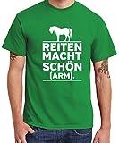clothinx - Reiten Macht Schön und Arm – Boys T-Shirt