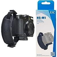JJC HS-M1 Microfiber PU Leather Soft Camera Hand Grip Strap for Mirrorless Cameras (Black)