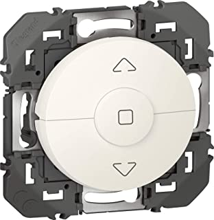 Interrupteur individuel de volet roulant C/éliane Blanc complet