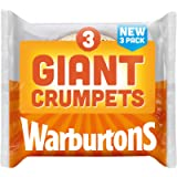 Warburtons 3 Pack Giant Crumpets