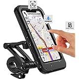 Fiets mobiele telefoonhouder motorfiets universele houder fiets waterdicht touchscreen met 360° draaibare outdoor fietshouder