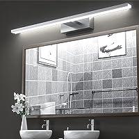 VITCOCO LED Lampe Miroir Salle de Bain 15W 1200LM 60cm 230V 6000K Luminaire Salle de Bain, IP44 Imperméable Classe…