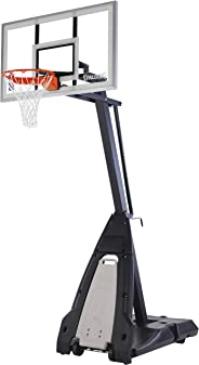 Spalding Unisex Child The Beast Jr. Basketball System - Silver/Black