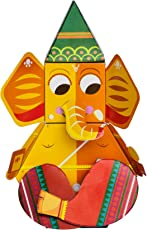 Toiing Craftoi 3D DIY Paper Craft Toy - Ganapati