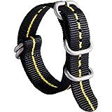 NATO Zulu Watch Strap Thick G10 Premium Ballistic Nylon cinturini per orologi da uomo 18mm 20mm 22mm 24mm con militari Heavy