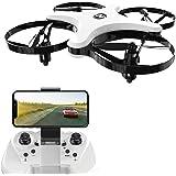 Holy Stone HS220 FPV RC Drohne faltbar mit HD Kamera Live Übertragung,rc Quadcopter ferngesteuert mit Langer Flugzeit,Höhenhaltung,Headless Modus,WiFi Camera App, Mini Drohne für Anfänger und Kinder