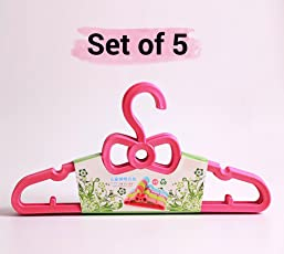 Small Plastic Hangers for Baby kids childrens toddler clothes wardrobe
