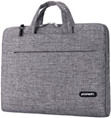 Firecrown 15.6 Inch Laptop Sleeve Bag with Handle Pocket Fully Paded Premium (Grey)