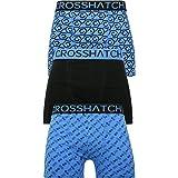 Crosshatch Mens Boxers Shorts Multipacked 3PK Underwear Gift Set 3 Pack Tresco