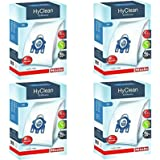 Genuine Miele GN Vacuum Cleaner 3D Hyclean Hoover Bags + Air Filters (Pack of 16)