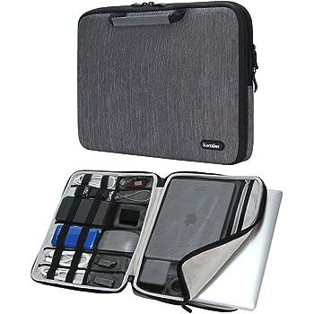 iCozzier 13-13.3 pollici borsa a mano per computer portatile/ Costodia per accessori elettronici for 13-Inch Laptop/ Ultrabook/ Notebook/ Netbook/ MacBook – Grey