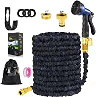 Aionly Garden Hose,Expandable Magic Hose Pipe with Watering Hoses Accessories-Brass Connector-Spray Gun-Hose Hanger…