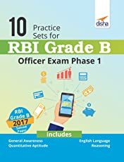 10 Practice Sets for RBI Grade B Officer Exam Phase 1