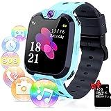 Relojes para Niños - Música Smartwatch para Niños Niña Game Watch (Tarjeta SD de 1GB incluida Pantalla táctil Relojes Intelig