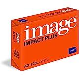 Image Impact Plus - Papier de qualité supérieure Blanc 120 g/m² A3 - Ramette de 250 feuilles