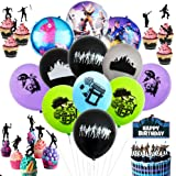 Besime Kit di Forniture per Feste di Compleanno per Gli Appassionati di Giochi Decorativi per Party A Tema Giochi–Sono…