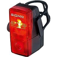 Sigma Sport LED Batterie Fahrradbeleuchtung CUBIC, 400 m Sichtbarkeit, batteriebetriebenes Rücklicht, StVZO zugelassen…