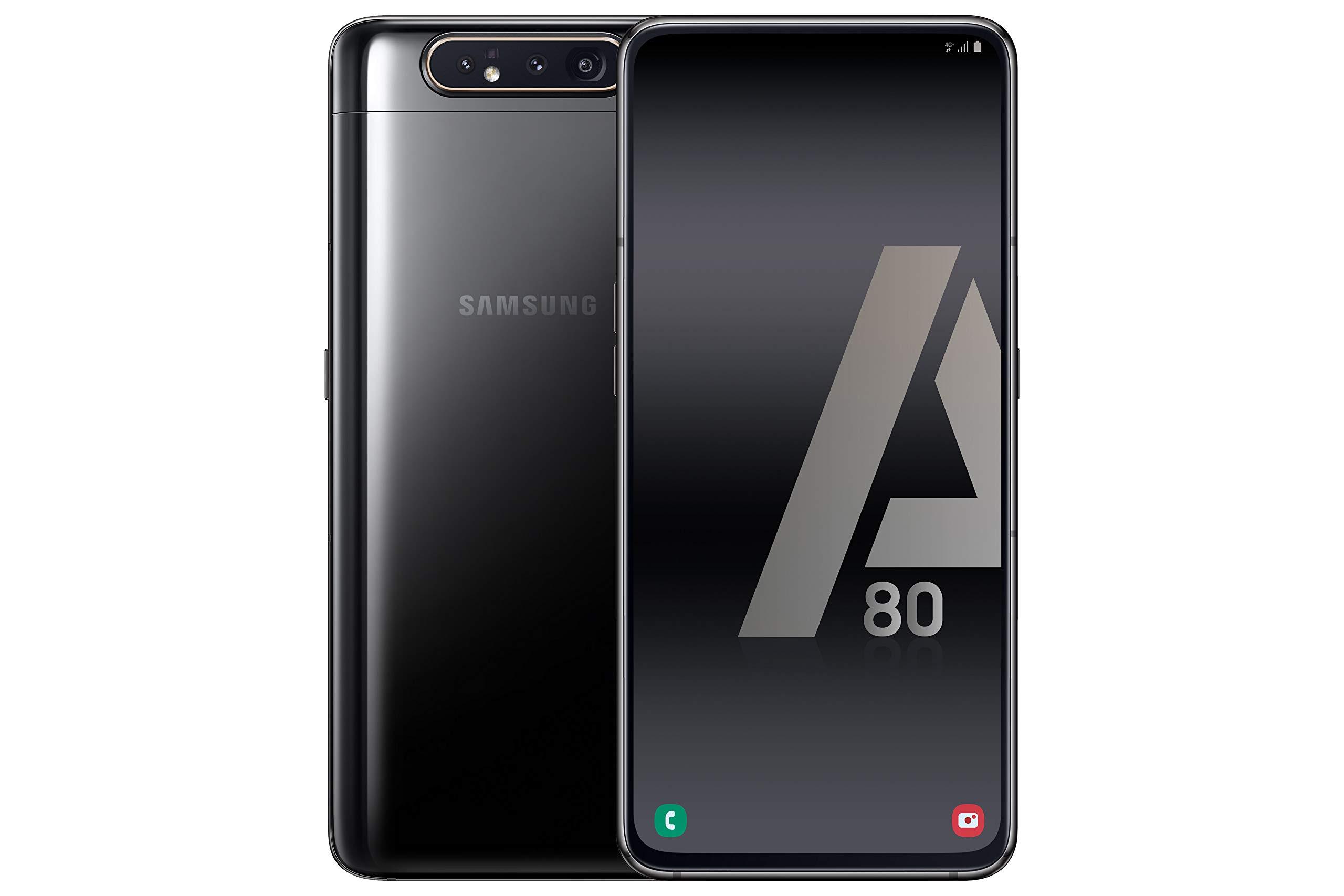 Samsung Galaxy A80 - Smartphone 4G (6,7'' - 128GB - 8GB RAM) - BLACK - Versione Spagnola