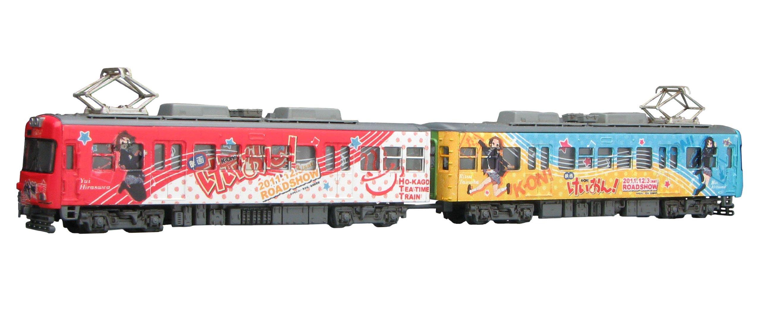 Wrapping Train! K Shape Keihan 600 1/150 (Houkago Tea Time Train) [Toy] (japan import)