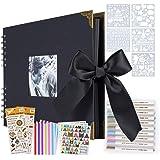 ASYOUWISH Bricolage Album Photo Creative Album Photo de Couple Collé à La Main, Album Photo A4, Scrapbook Ou Record de Cadeau
