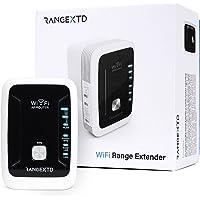 RANGEXTD WLAN Verstärker WiFi Repeater - Internet Verstärker für mehr WLAN-Reichweite   WLAN Repeater für bis zu 10…