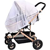 REHTRAD Baby Stroller Mosquito Net,Full-Cover Type Mosquito Net,Be Able to Resist Dust Weather, Mosquitoes, etc,54 X 74…