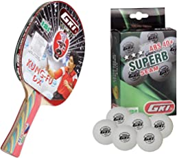 GKI Kung Fu DX Table Tennis Racquet Combo Set