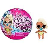 LOL Surprise Colour Change Lil Sisters - Bambola Surprise con 5 sorprese, divertenti effetti di cambio colore in Acqua Ghiacc