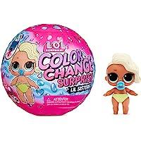 LOL Surprise Colour Change Lil Sisters - Bambola Surprise con 5 sorprese, divertenti effetti di cambio colore in Acqua…