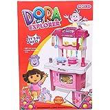 Dora Kitchen Toy for Girl , Pink , 400229