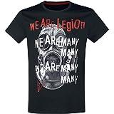 Watch Dogs Legion - We Are Legion Uomo T-Shirt Nero Regular