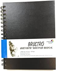 Brustro Artists' Sketch Book Wiro Bound A4-160 GSM , 120 pages Acid free
