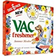 FIND A SPARE 1X Pack Vac 6 Fresheners Summer Meadow Extra Strength Powerful Scent For All Vacuum Hoover Handheld Bagless And
