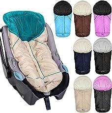 Winterfußsack Fußsack für Babyschale / Autobabyschale / Kinderwagenschale