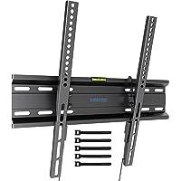 BONTEC Support TV Mural Fixe Inclinable Ultra Mince pour des Téléviseurs Plats & incurvés LCD LED OLED 3D Plasma de 23 à…