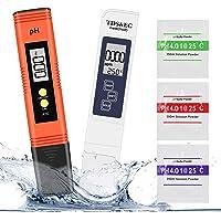 Misuratore Ph, Winzwon PH Tester Qualità Acqua 4 in 1 PH/TDS&EC Temperatura Tester con Compensazione Automatica e della…